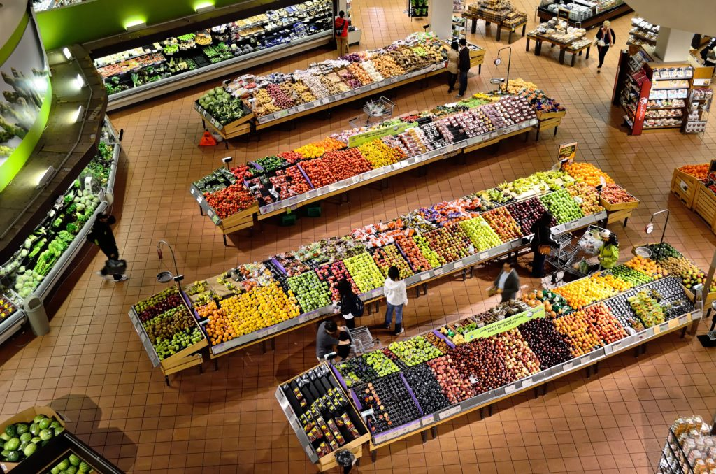 Supermarket: how to orient yourself